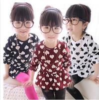 baby girls dress 2015 spring autumn Girl's Fashion Apparel 2~8 Age Kids bottom dress party princess girl dresses  ,D105