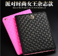 Fashion PU Leather Flip Case For iPad mini 1 / 2 / 3 Smart Wake UP & Sleep Function Tablet Cover
