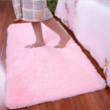 Long Pattern Shaggy Soft Carpet Area Rug Slip Resistant Door Mat Ground Floor Mat For Living Room 60*120 CM(China (Mainland))