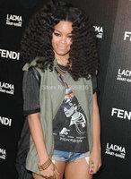 Teyana Taylor hair style   black 150density bouncy loose deep wave  100 human hair wigs for african americans