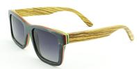 2014 Wayfarer bamboo sunglasse fashion polarized Lens Coating design wooden sunglasses free shipping 6095