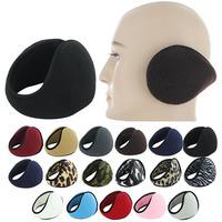 High Quality Chic Solid Color Unisex Mens Womens Winter Ear Muffs Wraps Earmuffs Earwarmers YD