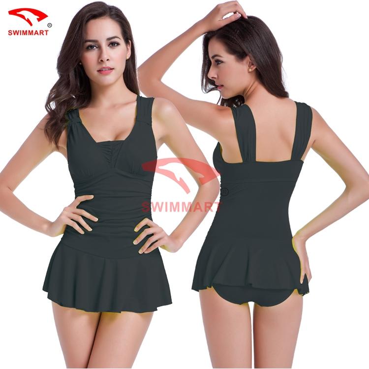 New Fashion Free Shipping Cute Cover Belly Conservative Big Yards Ladies Swimwear Spa Women Swimwear X013(China (Mainland))