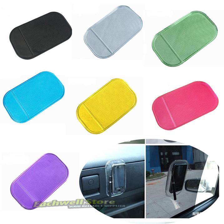 Car Grip Pad Non Slip Gadget Sticky Mat Anti Slide Dash Mobile Cell Phone Holder(China (Mainland))