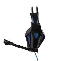 Brand headphone Sades SA-709 7.1 Sound Surround PC Game Gamer Gaming Deep Bass Headset Headphone Earphone with Microphone