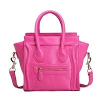 Hot Sale! Wholesale Rose Black Smiley Bag Small Medium Bag Handbag Women's Handbag Messenger Bag New Arrival Designer