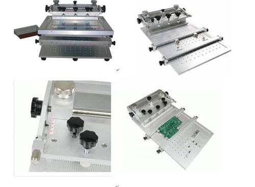 Manufacturer High precision Desktop manual T4030 Screen printer Screen printing machine equipment(China (Mainland))