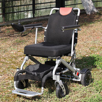 HOT SALES 2015 New Style Electric Power Easy Folding Wheelchair With 18kg Weight