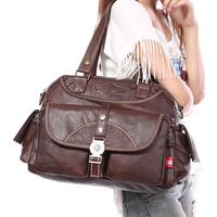 Fashion  women messenger bags desigual vintage bag Women's messenger bag large bags shopping cosmetic bag coin purse briefcases