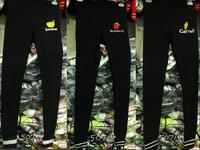 HOT! Harajuku Street Fashion Super Cute Strawberry Banana Carrot Fruits Embroidery Elastic Waist Fleece Leggings Y-1339