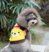 1pcs/lot New Dog Clothing Pet Product Spring Winter For Dog Cat Clothes Coat Bear Pattern Wholesale Dog Product Clothing