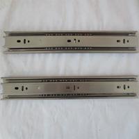 Feng Yue metal furniture fittings factory 4510 stainless steel drawer rail steel ball slide rail Gute