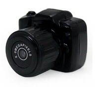 Free shipping Y3000 the smallest Mini HD 720P Video Camera  with retail box with 1pcs