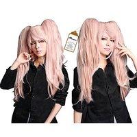 Danganronpa Junko Enoshima Party Hair Cos Cosplay Wig Hallowmas 75cm