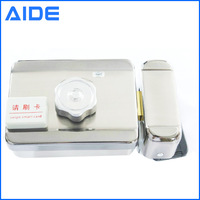 Single head electric double card manufacturers integrated lock induction lock