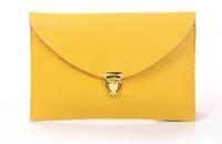 Candy colors Retro Women Handbag PU Messenger Bags Clutch bag Diagonal shoulder bag
