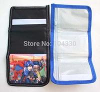 Big Hero 6 cartoon 240 pcs children short wallet bag purse new