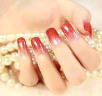 2015 HOT High quality Glitter Foils Nail Stickers Decal Manicure Tips DIY Decoration Nail Art zlSA175