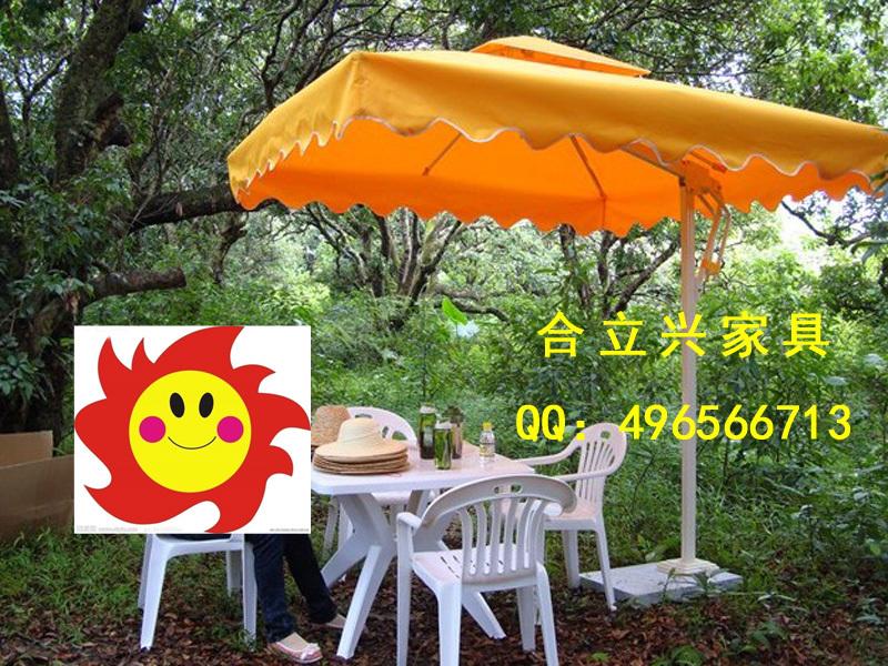 Manufacturers promotional sided aluminum outdoor umbrella real estate company booth umbrella umbrella casual style street food c(China (Mainland))