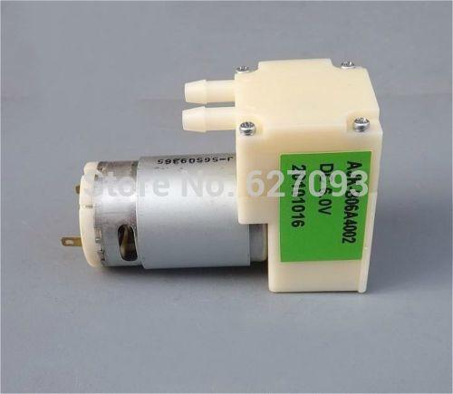 DC6V Micro vacuum pump Small Diaphragm Air Pump Pressure pump Mounter Vacuum Free shipping(China (Mainland))