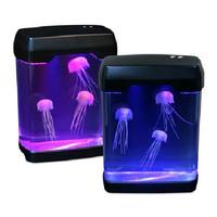 Magic LED Light Electronic Toys Jellyfish Aquarium