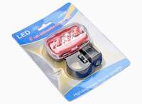 5 LED Bicycle Rear Tail Light Safety Function