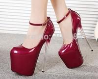 15Neweast style Stiletto Heel  Pumps Fashion Crystal women dress shoes  Women High Heels Autumn/Spring
