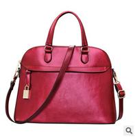 New Fashion Women Messenger Bags shell Shoulder Bag genuine leather Bag Tote FXone 2015 Women Handbags