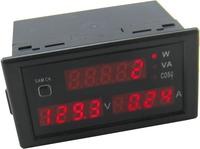 200-450V/0-100A Multi-function Digital Display AC voltmeter Ammeter Power Meter