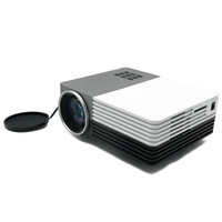 Free shipping Mini LED Projector AM60 LCD Portable Projektor 1300 Lumen Support AV/VGA/SD/USB/HDMI
