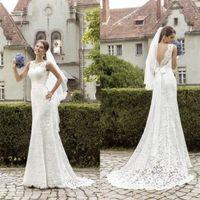 New Lace Bridal Gowns White Ivory Wedding Dress Custom Size 4 6 8 10 12 14 16    1-0256