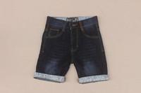 Retail Girls Denim Shorts New 2015 Kids Summer Lace Jeans Shorts for Boys bermudas Brand Fashion Child Denim Short 2-12Y