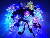 Indoor/Outdoor Led Modeling String lights 5M 50led AC110V/220V Colorful Flashing Holiday Party Christmas Wedding Fairy lights
