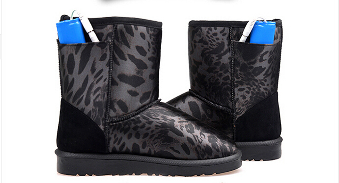 New fashion women winter warm cotton boots , electric heating shoes snow boots, go, ( 483 ) 5.5-8.5(China (Mainland))