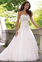 New White/ivory Bridal Wedding dresses Wedding Gown Custom SZ 6-8-10-12-14-16-18     1-0262