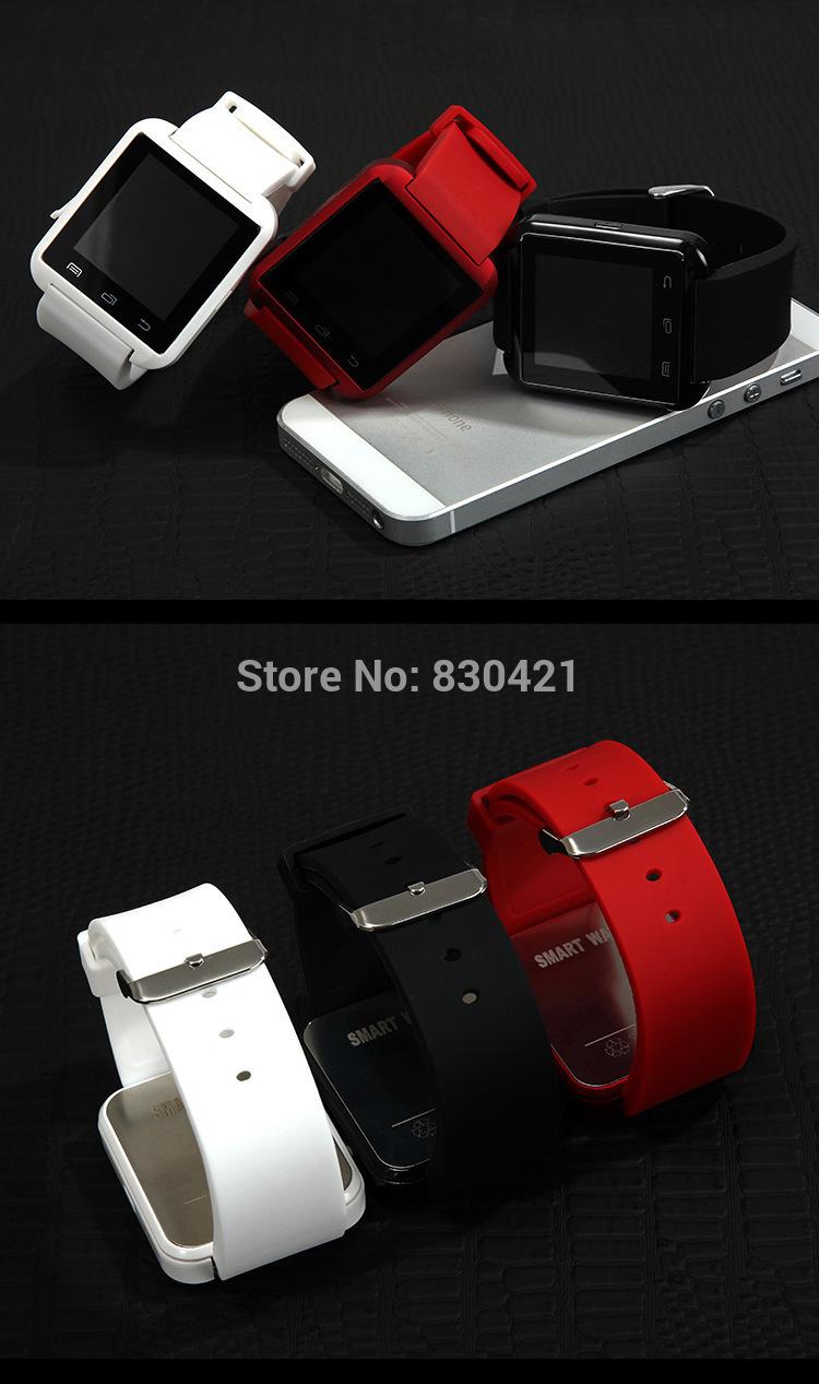 Free shipping Bluetooth Smart Watch android OS U8 waterproof smart watch phone CE approval(China (Mainland))