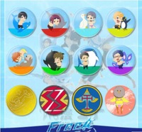 HOT NEW  FREE badges  A total of 12 COSPLAY Accessories   Anime act the role ofing is tasted