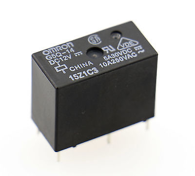 Omron G5Q Series Miniature Power Relay G5Q-14 DC12V UL VDE listed(China (Mainland))