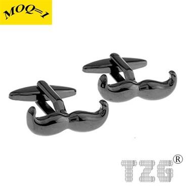 TZG09110 Beard Cufflink Cuff Link 1 Pair Free Shipping Promotion(China (Mainland))