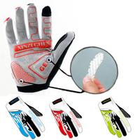 2015 GEL Cycling Gloves Man Women Blue Red Green Cycling  Full Finger Gloves M-XL AG3022