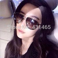 2015 new Sunglasses women UV400 big Round trendy plastic Frame Sun Glasses Brand design oculos de sol masculino feminino