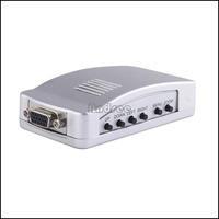 Free Shipping  DIGITAL VGA TO AV CONVERTER AS-VA011