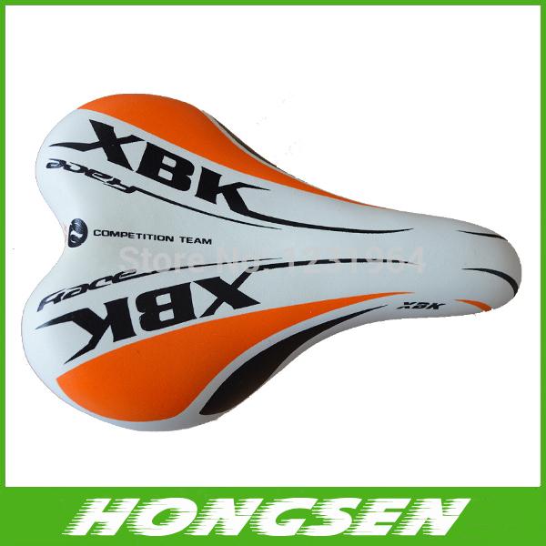Speed Racing Vehicle leather Seat Specialized Road saddle MTB bike cycling saddle seat in orange(China (Mainland))