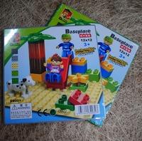 Free shipping (4pcs/lot) baseplate building block big brick 12x12dots  wholesales Drop shipping