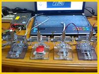 250mw Red Laser Mini DIY Laser Engraving Machine IC Marking Laser Engraver Printer Carving Carved Chapter Machine
