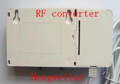 Free ship Original new All standard VHF UHF band frequency agile modulator RF converter AV converter turn RF(China (Mainland))