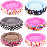 pets product , Canvas dog bed lovely circular cat bed, NO A-04