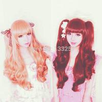 New sale!Free shipping!WHS Princess daily milk colored linen Shibuya-kei anime cosplay wig women wig
