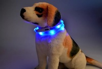 Newest USB Rechargeable Led Dog Pet Flashing Collar Light Up Chargeable Safety Necklace 5 Colors 5pcs/lot