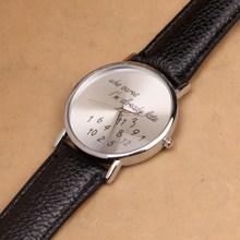 Geneva quartz watch women fashion dress watches luxury top brand leather steel clock Who cares I